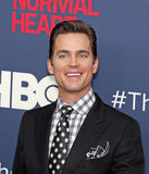 "Matt Bomer. Actor Matt Bomer arrives on the red carpet for the New York premiere of ""The Normal Heart, "" at the Ziegfeld Theatre in New York City on May 12 Stock Image"