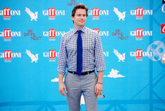 Matt Bomer  al Giffoni Film Festival 2014 Royalty Free Stock Photography