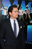 Matt Bomer arrives at the  Royalty Free Stock Images