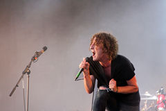 Matt Bowman of The Pigeon Detectives Stock Images