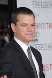 matt damon Royaltyfria Foton