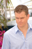 Matt Damon fotografía de archivo libre de regalías
