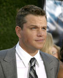 Matt Damon Royaltyfri Foto