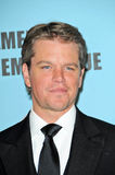 Matt Damon Stock Image