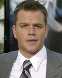 Matt Damon Obrazy Stock