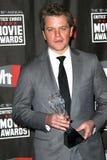 Matt Damon Arkivfoto