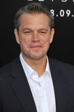 Matt Damon Obraz Stock