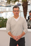 Matt Damon. CANNES, FRANCE - MAY 21, 2013: Matt Damon at photocall for his movie Behind the Candelabra at the 66th Festival de Cannes Stock Photography