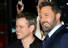 Matt Damon et Ben Affleck photo stock