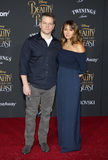 Matt Damon et Luciana Barroso Images libres de droits