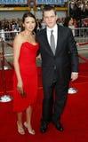 Matt Damon and Luciana Damon Stock Photos