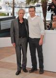 Matt Damon,Michael Douglas Royalty Free Stock Photography