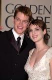 Matt Damon, Winona Ryder Lizenzfreies Stockbild