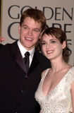 Matt Damon,Winona Ryder Royalty Free Stock Image