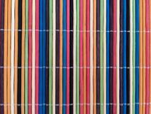 Matt färgrik bambu Arkivfoto