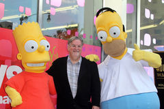Matt Groening. At the  Star on the Hollywood Walk of Fame Ceremony, Hollywood, CA 02-14-12 Royalty Free Stock Images