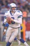 Matt Hasselbeck. Seattle Seahawks QB Matt Hasselbeck, #8.  (Image taken from color slide Stock Image