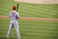 Matt Holliday. St. Louis Cardninals baseball player Matt Holliday gets ready for his at bat Stock Image