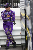 Matt Kenseth na estrada do poço Foto de Stock