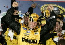 Matt Kenseth NASCAR mästare fotografering för bildbyråer