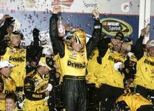 Matt Kenseth NASCAR mästare royaltyfri bild