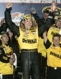 Matt Kenseth NASCAR mästare arkivbild