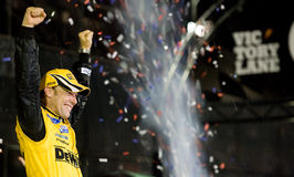 Matt Kenseth Wins the Daytona 500 Royalty Free Stock Images
