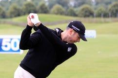 Matt Kuchar bij het Franse golf opent 2013 Royalty-vrije Stock Fotografie