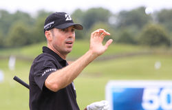 Matt Kuchar at The French golf Open 2013 Stock Photos