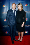 Matt Lauer, Savannah Guthrie Royalty Free Stock Images