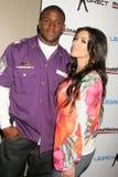 Matt Leinart, Kimberly Kardashian Zdjęcie Stock
