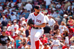 Matt milda Boston Red Sox Royaltyfri Bild