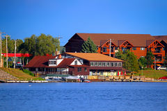 Matt Morgan's Minocqua Wisconsin Royalty Free Stock Photography
