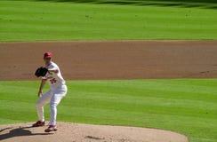 Matt Morris. St. Louis Cardinals batter Matt Morris.   Image taken from color slide Royalty Free Stock Images
