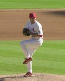 Matt Morris. St. Louis Cardinals pitcher Matt Morris. Image taken from color slide Royalty Free Stock Images