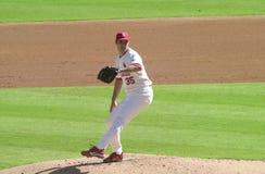 Matt Morris. St. Louis Cardinals pitcher Matt Morris. Image taken from the color slide Stock Photo