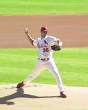 Matt Morris. St. Louis Cardinals pitcher Matt Morris. Image taken from the color slide Royalty Free Stock Images