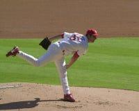 Matt Morris. St. Louis Cardinals pitcher Matt Morris.   Image taken from color slide Stock Photo