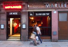 Matt'n'Phreds Jazz Bar, Manchester, Inglaterra Imagem de Stock