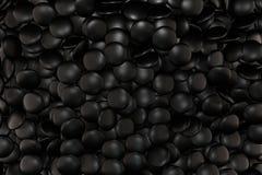 Matt noir en pierre Photo libre de droits