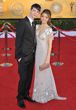 Matt Prokop, Sarah Hyland Stock Photo
