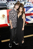 Matt Prokop, Sarah Hyland, The Cars Royalty Free Stock Photo