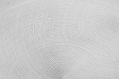 The matt silver surface metal. The semicircular strokes. Royalty Free Stock Images