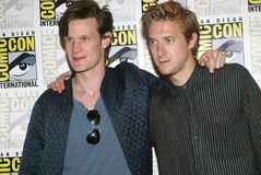 Matt Smith and Arthur Darvill Stock Photo