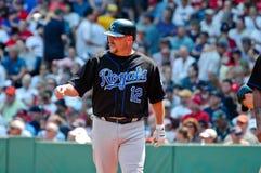 Matt Stairs Kansas City Royals Royalty Free Stock Photo