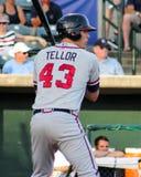 Matt Tellor, Rome Braves Stock Image