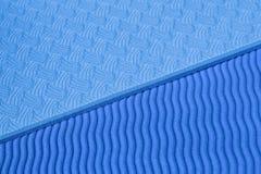 Matt textur för blå yoga Royaltyfri Bild