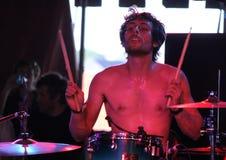Matt Thomas der Band Freude beeindruckend stockfotos
