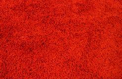 Matta för röd färg, filttexturbakgrund, matta för röd färg, filttexturbakgrund som är klar för produktskärmmontage Royaltyfria Foton