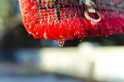 Matta, når tvätt av hängande dyningar Arkivbild